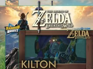 Zelda Breath of the Wild Kilton Shop