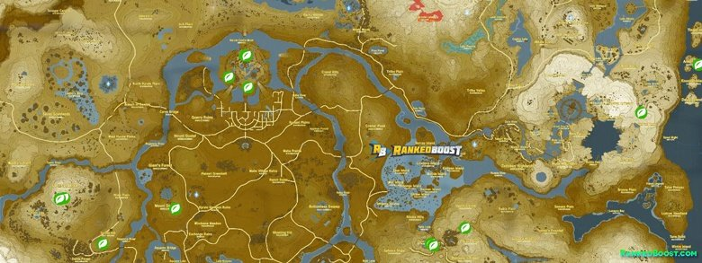 Zelda Breath of the Wild Korok Seed Locations