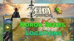 Zelda Breath of the Wild Korok Seeds Locations