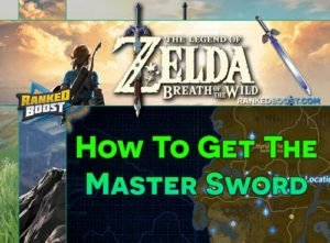 Zelda Breath of the Wild Master Sword