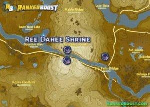 Zelda Breath of the Wild Ree Dahee Shrine Walkthrough Guide and Location