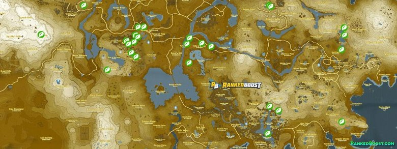 Zelda Breath of the Wild Seed Locations