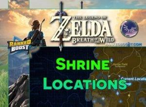 Zelda Breath of the Wild Shrine | Dungeons