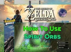 Zelda Breath of the Wild Spirit Orbs