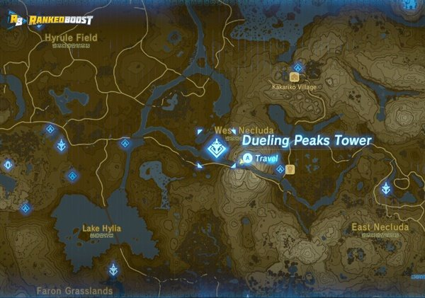 dueling-peaks-tower-zelda-breath-of-the-wild