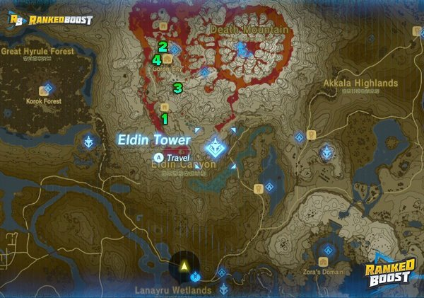 photograph relating to Printable Korok Seed Map called Zelda Breath of the Wild Facet Quests Checklist Gains Against