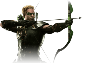 Injustice 2 Green Arrow | Gear Build, Stats, Moves, Abilities & Skin Costumes