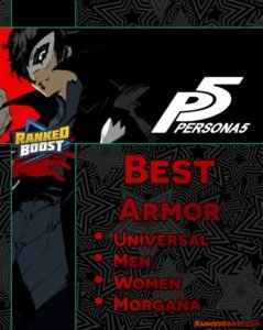 Persona 5 Armor List And How To Get The Best Armor Items In P5