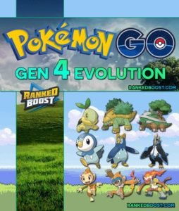 Pokemon GO Gen 4 Pokemon List | All Gen 4 Evolutions