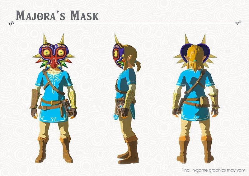 Zelda botw_majorasmask