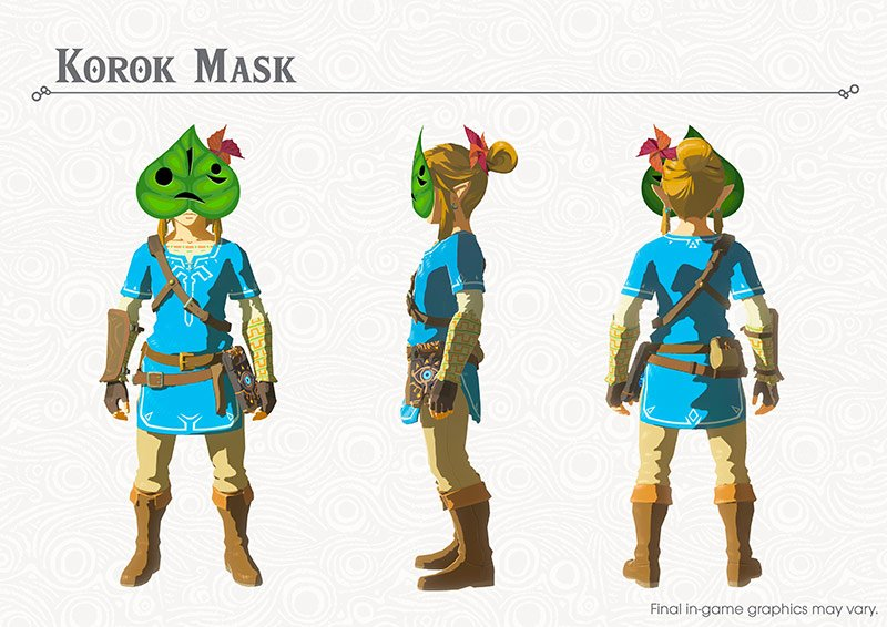 Zelda Armor DLC_korokmask