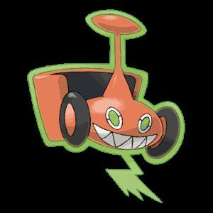 Mow Rotom Pokemon GO