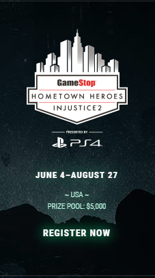 Injustice 2 Gamestop Hometown Heroes