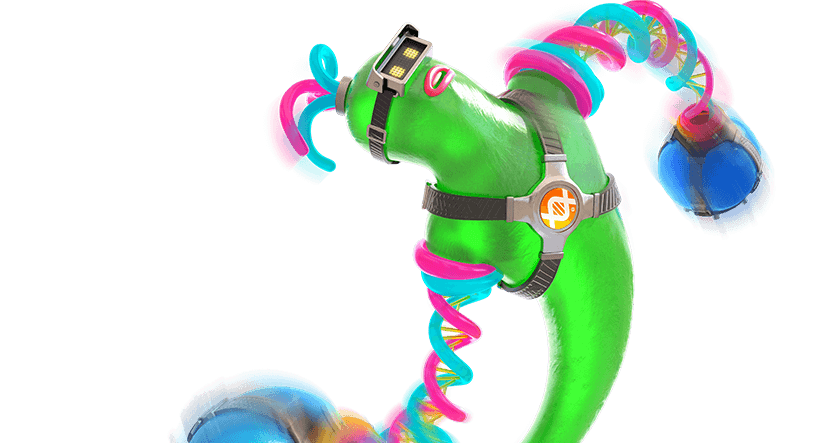 DNA Man helix-arms-nintendo