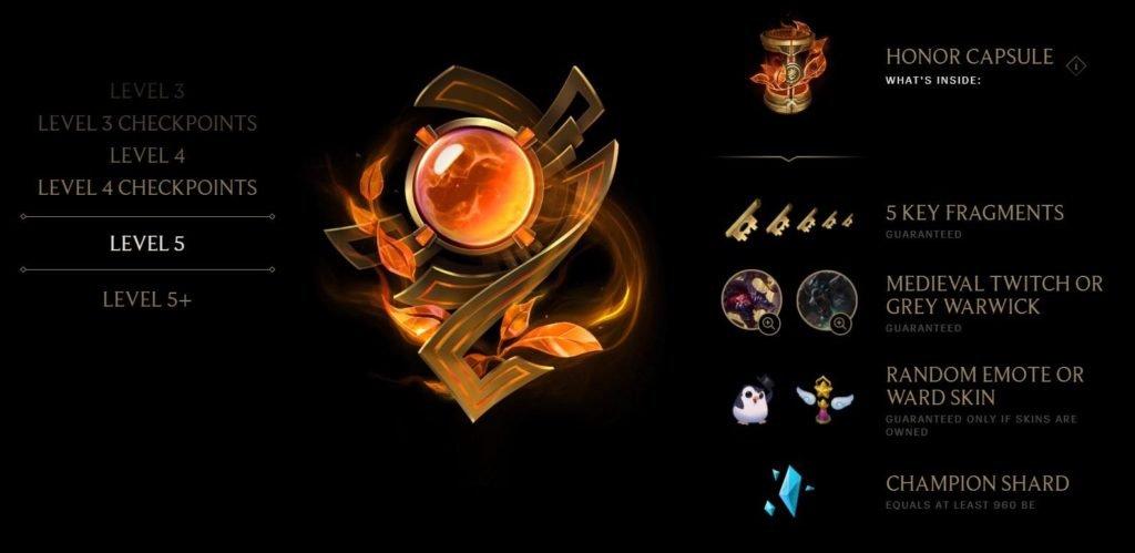 League of Legend Honor Rewards | LoL Season 8 Honor Update