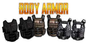 Playersunknowns Battlegrounds Body Armor