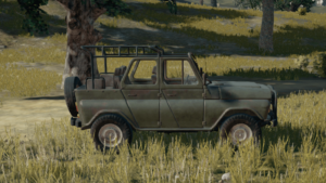 PlayerUnknown's Battlegrounds Vehicles List
