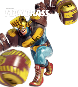 Max Brass | Arms Nintendo Switch