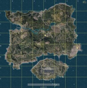 PlayerUnknown's Battlegrounds Maps