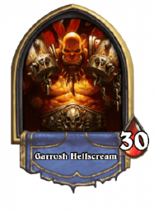 Hearthstone Knights of the Frozen Throne Warrior Card List of Legendary, Rare, Common and Epic Cards