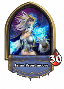 Hearthstone Knights of the Frozen Throne Mage Card List of Legendary, Rare, Common and Epic Cards