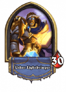 Hearthstone Knights of the Frozen Throne Paladin Card List of Legendary, Rare, Common and Epic Cards