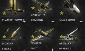 Call of Duty WW2 Scorestreaks