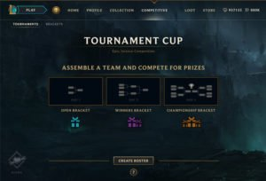 League of Legends Clash Rewards