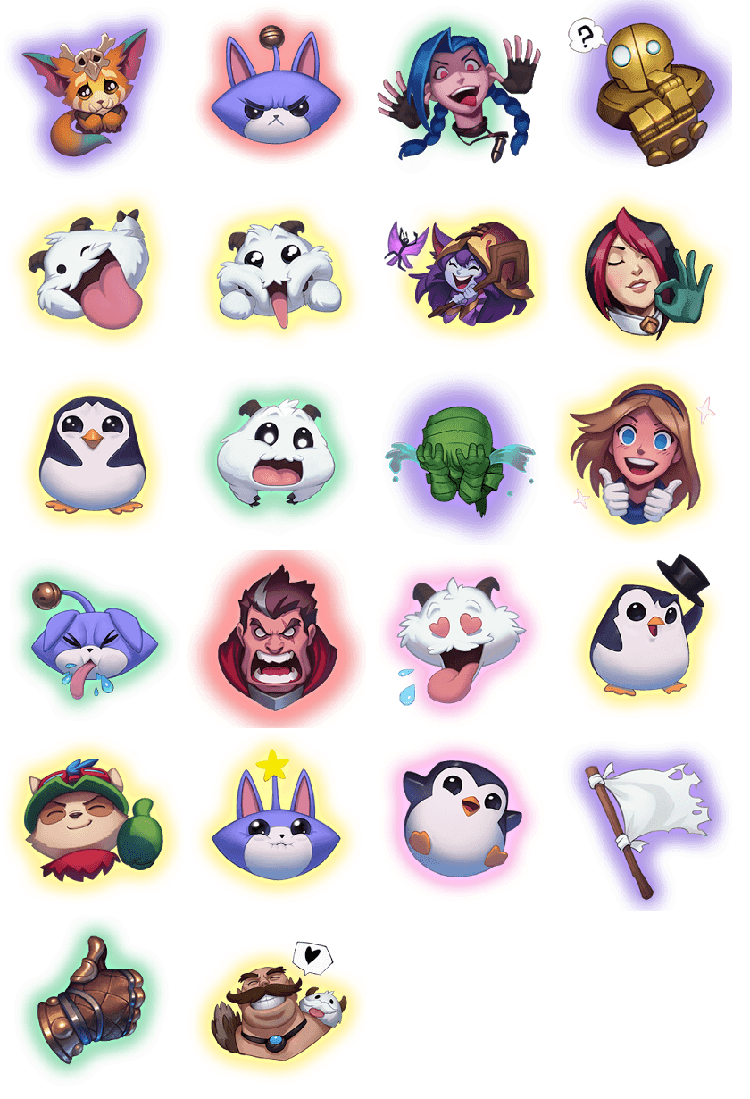 League of Legends Emotes
