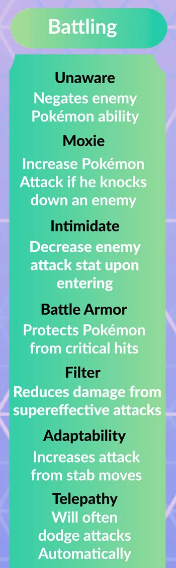 Pokemon-GO-Battling-Ability-list