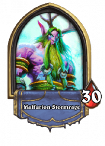 Hearthstone Knights of the Frozen Throne Druid Card List of Legendary, Rare, Common and Epic Cards