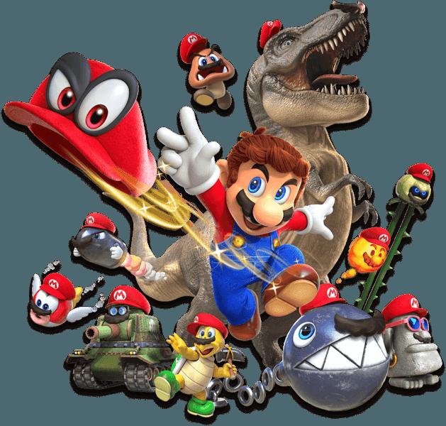 Super Mario Odyssey Hats