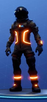 level 1 level 23 level 55 - astronaut skin fortnite season 3