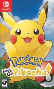 Pokemon Let's Go Pokemon List