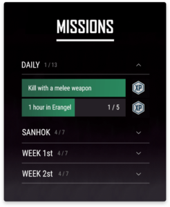 PUBG Missions
