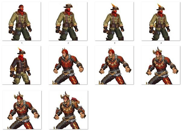 Realm Royale Class Skins