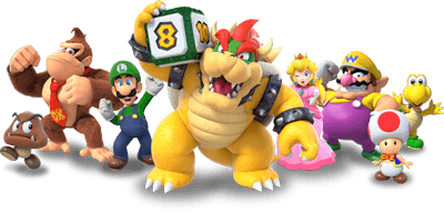 Super Mario Party Characters List Best Character Dice Rolls