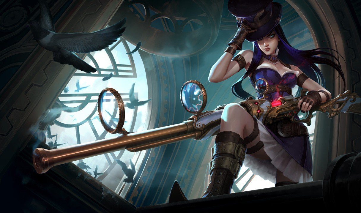 Caitlyn Build S11 Runes Mythic Item Build Skill Order Lol 11 4