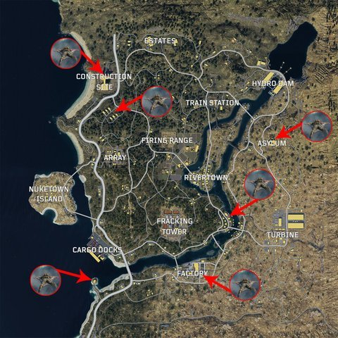 Call of duty Black Ops 4 Blackout Best Places to Land