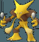 Alakazam Pokemon Lets GO