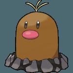 Alolan Diglett Pokemon Lets GO