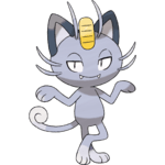 Alolan Meowth Pokemon Lets GO