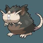 Alolan Raticate Pokemon Lets GO