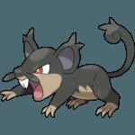 Alolan Rattata Pokemon Lets GO