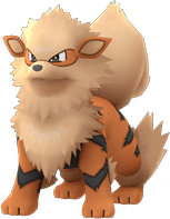 Arcanine Pokemon Lets GO
