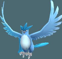 Articuno Pokemon Lets GO