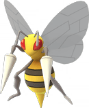Beedrill Pokemon Lets GO