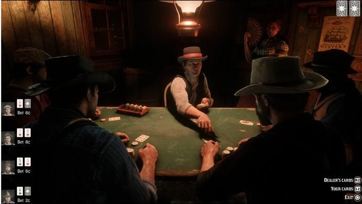 Black Jack Red Dead Redemption 2