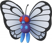 Butterfree Pokemon Lets GO