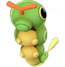 Caterpie Pokemon Lets GO